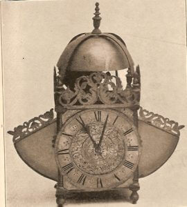Edward East's winged lantern clock