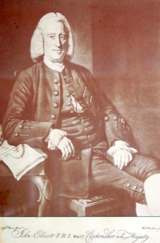 John Ellicott clockmaker