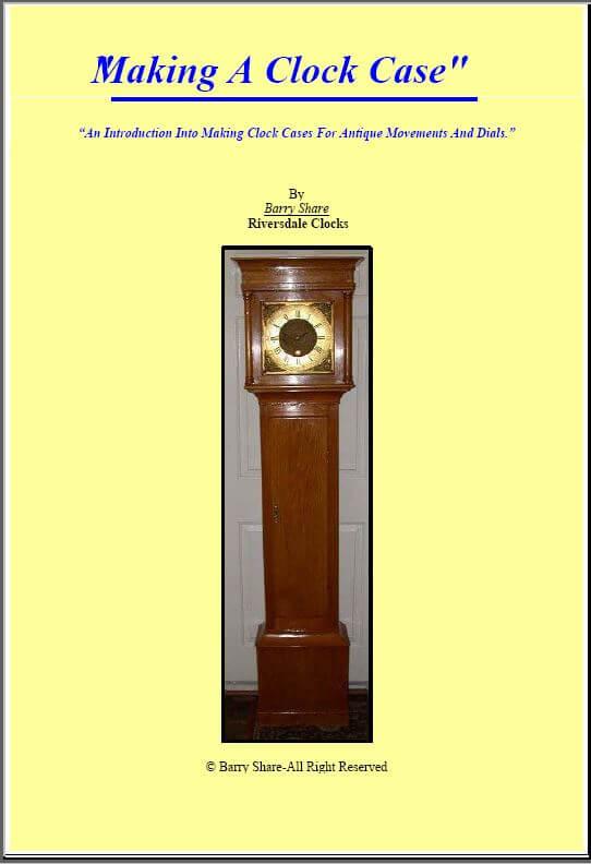 clock book cover