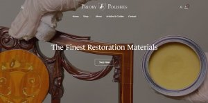 Priory Polishes website